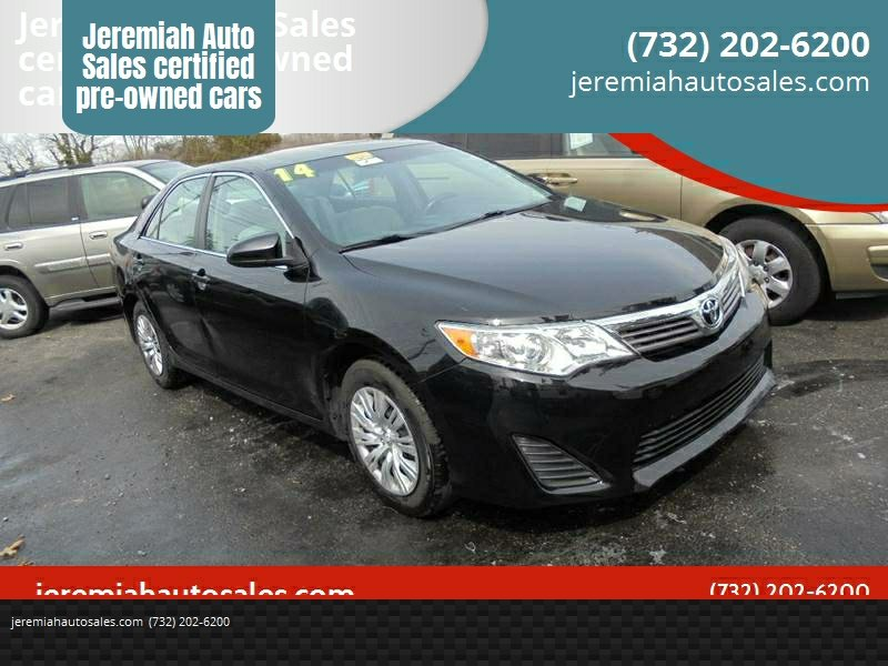 2014 Toyota Camry For Sale At Jeremiah Auto Sales Certified Pre Owned Cars  In Lakewood