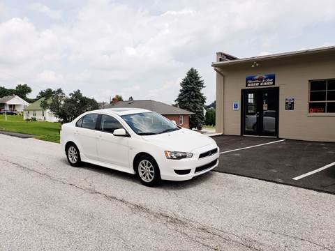 2012 Mitsubishi Lancer for sale at Hackler & Son Used Cars in Red Lion PA