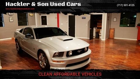 2007 Ford Mustang for sale in Red Lion, PA