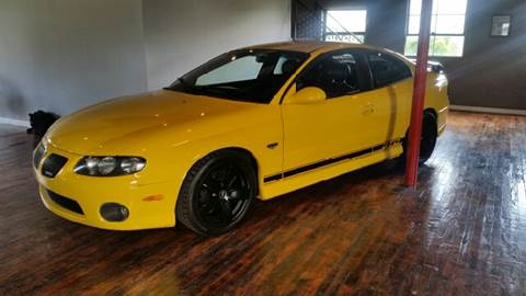 2004 Pontiac GTO for sale at Hackler & Son Used Cars in Red Lion PA