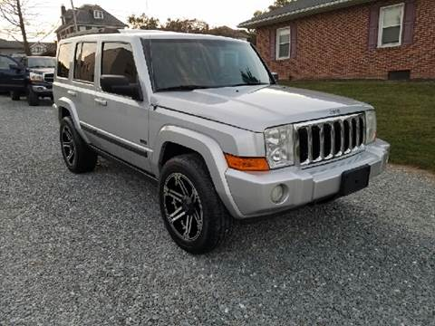 2007 Jeep Commander for sale at Hackler & Son Used Cars in Red Lion PA