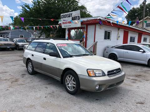 2003 Subaru Outback for sale at Crosby Auto LLC in Kansas City MO