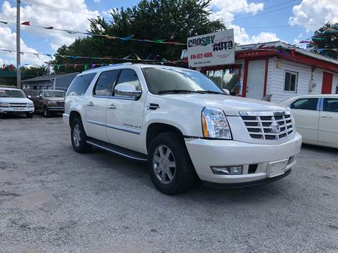2007 Cadillac Escalade ESV for sale at Crosby Auto LLC in Kansas City MO