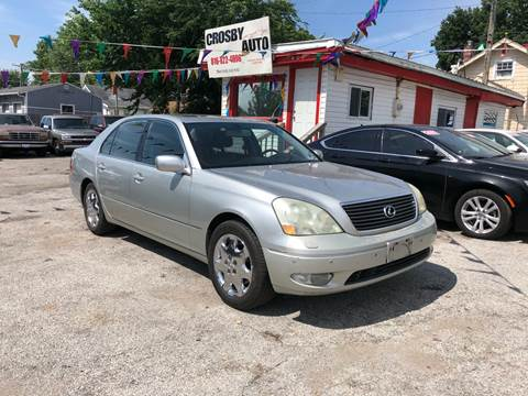 2002 Lexus LS 430 for sale at Crosby Auto LLC in Kansas City MO