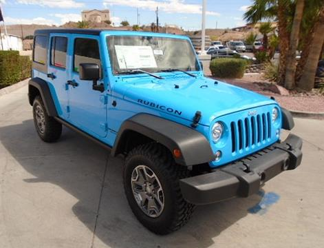 2017 Jeep Wrangler Unlimited for sale in Bullhead City, AZ