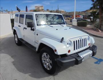 2012 Jeep Wrangler Unlimited for sale in Bullhead City, AZ