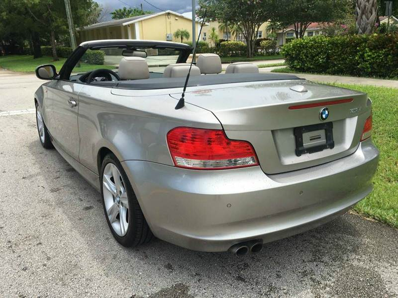Bmw Series I Dr Convertible In Fort Lauderdale FL - 2010 bmw 128i convertible