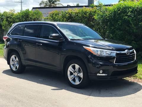 2014 Highlander For Sale >> 2014 Toyota Highlander For Sale In Fort Lauderdale Fl