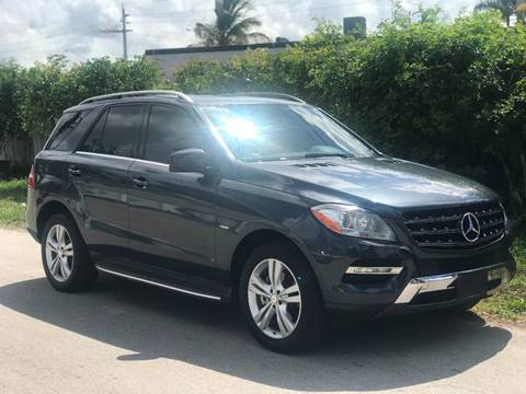 2012 Mercedes-Benz ML350 for sale in Fort Lauderdale, FL