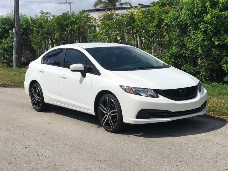 Honda Fort Lauderdale >> 2014 Honda Civic Ex 4dr Sedan W Navi In Fort Lauderdale Fl