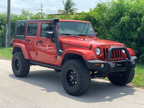 2009 Jeep Wrangler Unlimited for sale in Fort Lauderdale, FL