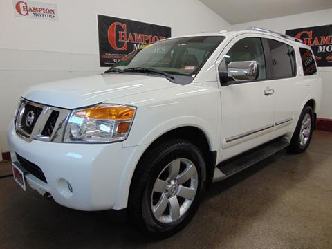 Nissan Armada Mpg >> Nissan Armada For Sale In Amherst Nh Champion Motors
