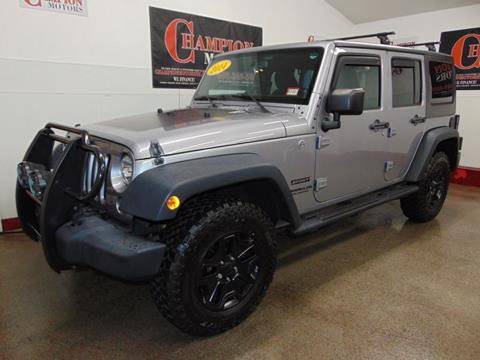 2014 Jeep Wrangler Unlimited for sale in Amherst, NH