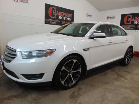 2014 Ford Taurus for sale at Champion Motors in Amherst NH