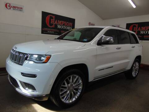 2017 Jeep Grand Cherokee for sale at Champion Motors in Amherst NH
