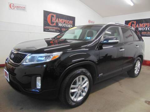 2015 Kia Sorento for sale at Champion Motors in Amherst NH