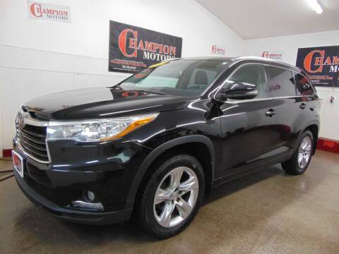 2015 Toyota Highlander for sale at Champion Motors in Amherst NH