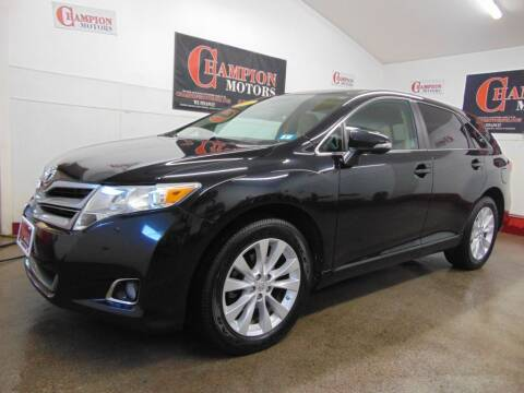 2014 Toyota Venza for sale at Champion Motors in Amherst NH