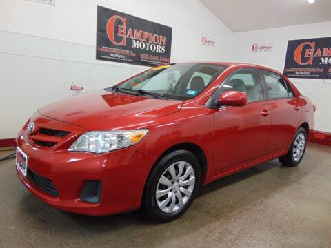 2012 Toyota Corolla for sale at Champion Motors in Amherst NH