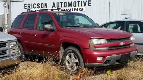 2002 Chevrolet TrailBlazer for sale at Ericson Auto in Ankeny IA