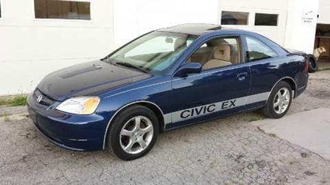 2002 Honda Civic for sale at Ericson Auto in Ankeny IA