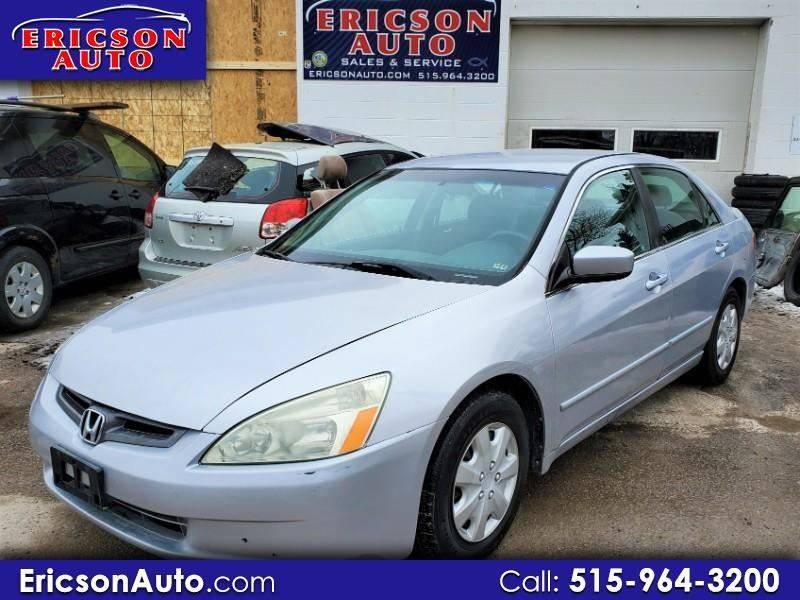 2003 Honda Accord LX 4dr Sedan - Ankeny IA