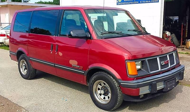 1994 Gmc Safari Awd 3dr Slx Extended Mini
