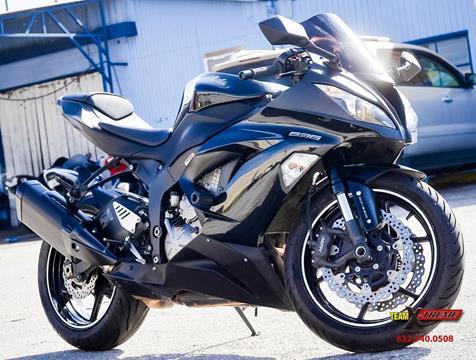 2013 Kawasaki Ninja ZX 6R For Sale In Houston TX