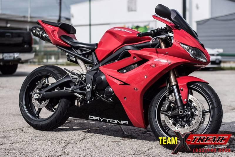 2012 Triumph Daytona 675 Houston Tx Houston Texas Motorcycles