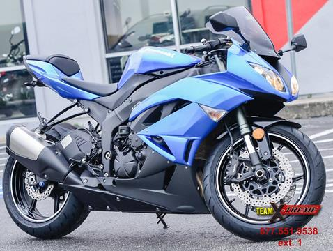 2009 Kawasaki Ninja ZX-6R for sale in Houston, TX