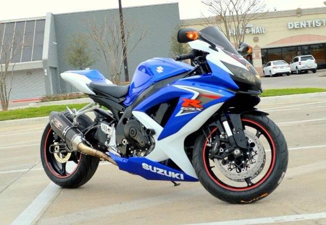 2008 Suzuki GSXR 750 - Houston, TX HOUSTON TEXAS Motorcycles