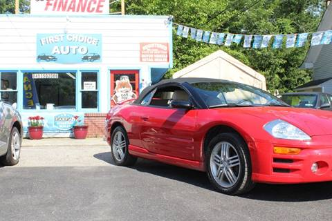 2003 Mitsubishi Eclipse Spyder for sale in Wingdale, NY