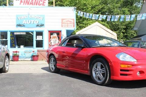 2003 Mitsubishi Eclipse Spyder
