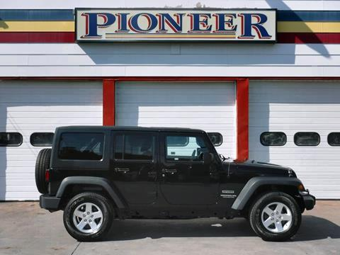 2015 Jeep Wrangler Unlimited for sale in Avon, NY