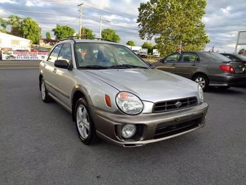 2002 Subaru Impreza for sale at Supermax Autos in Strasburg VA