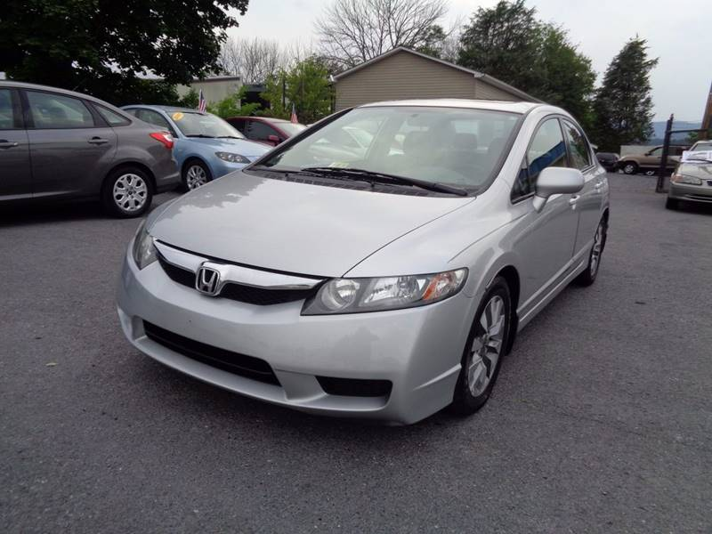 2009 honda civic ex l 4dr sedan 5a w navi in strasburg va supermax autos. Black Bedroom Furniture Sets. Home Design Ideas