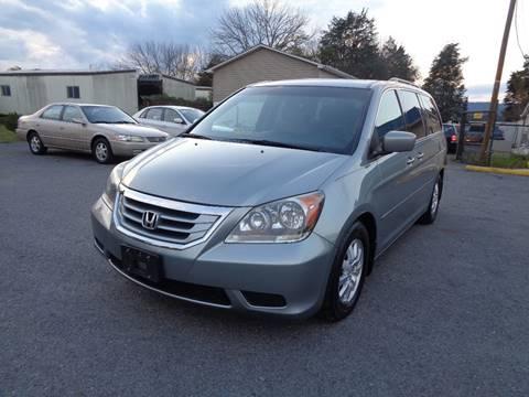 2008 Honda Odyssey for sale at Supermax Autos in Strasburg VA