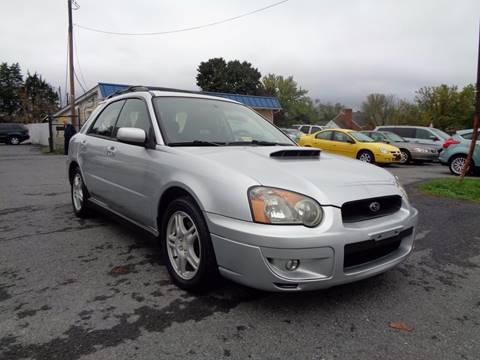 2004 Subaru Impreza for sale at Supermax Autos in Strasburg VA
