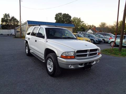 2002 Dodge Durango for sale at Supermax Autos in Strasburg VA