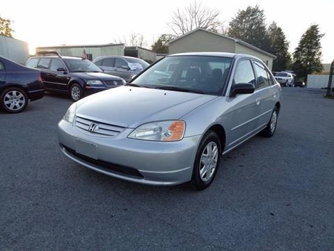 2003 Honda Civic for sale at Supermax Autos in Strasburg VA