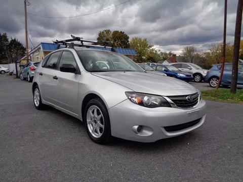 2008 Subaru Impreza for sale at Supermax Autos in Strasburg VA