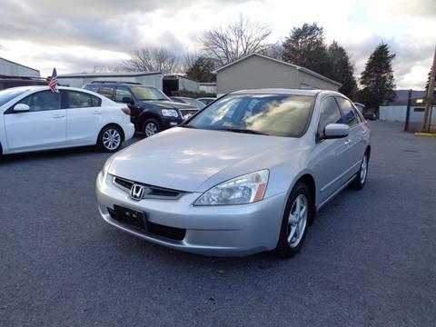 2003 Honda Accord for sale at Supermax Autos in Strasburg VA