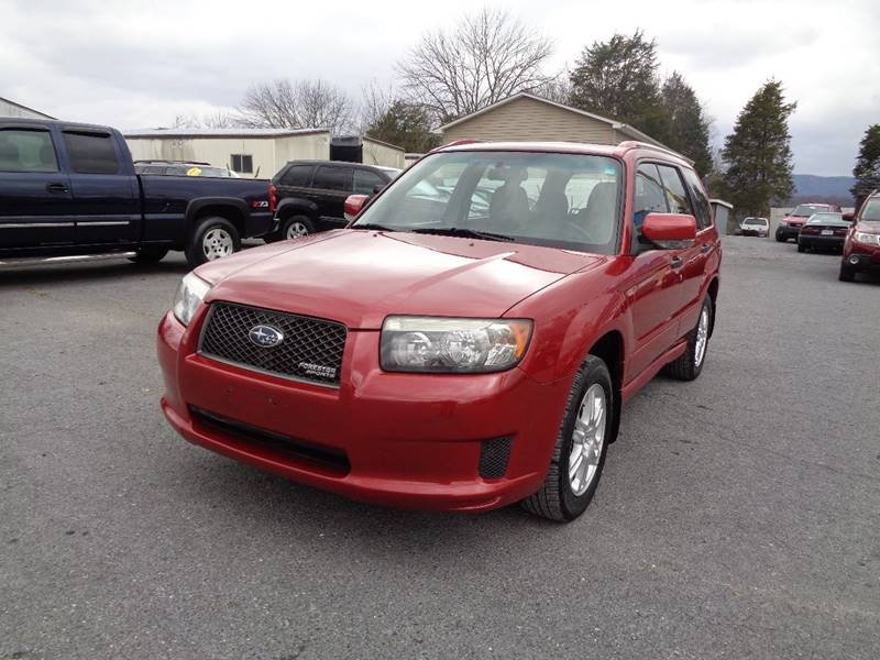 2008 Subaru Forester Awd Sports 2 5 X 4dr Wagon 4a In Strasburg Va