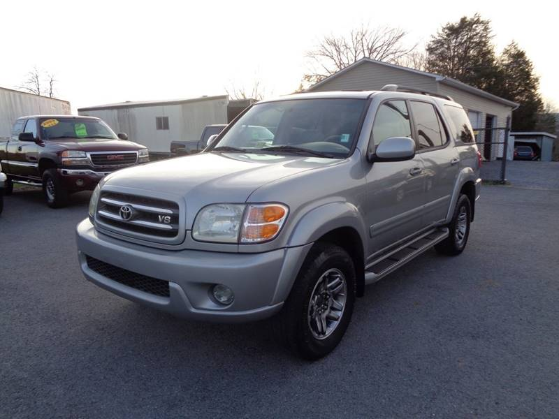 2003 toyota sequoia limited 4wd 4dr suv in strasburg va supermax autos. Black Bedroom Furniture Sets. Home Design Ideas