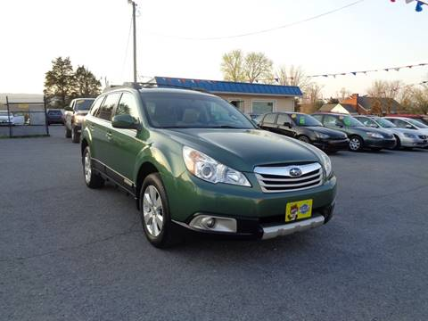 2011 Subaru Outback for sale at Supermax Autos in Strasburg VA