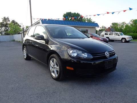 2012 Volkswagen Golf for sale at Supermax Autos in Strasburg VA