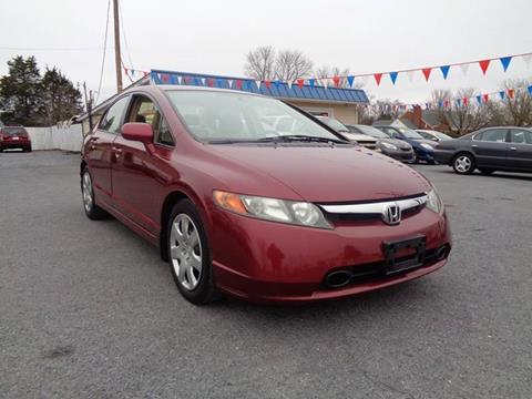 2008 Honda Civic for sale at Supermax Autos in Strasburg VA