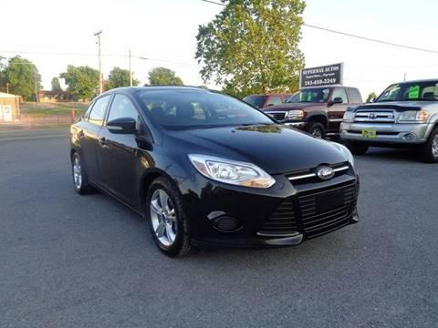 2014 Ford Focus for sale at Supermax Autos in Strasburg VA