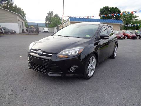 2012 Ford Focus for sale at Supermax Autos in Strasburg VA