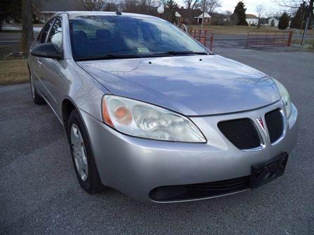 2008 Pontiac G6 for sale at Supermax Autos in Strasburg VA